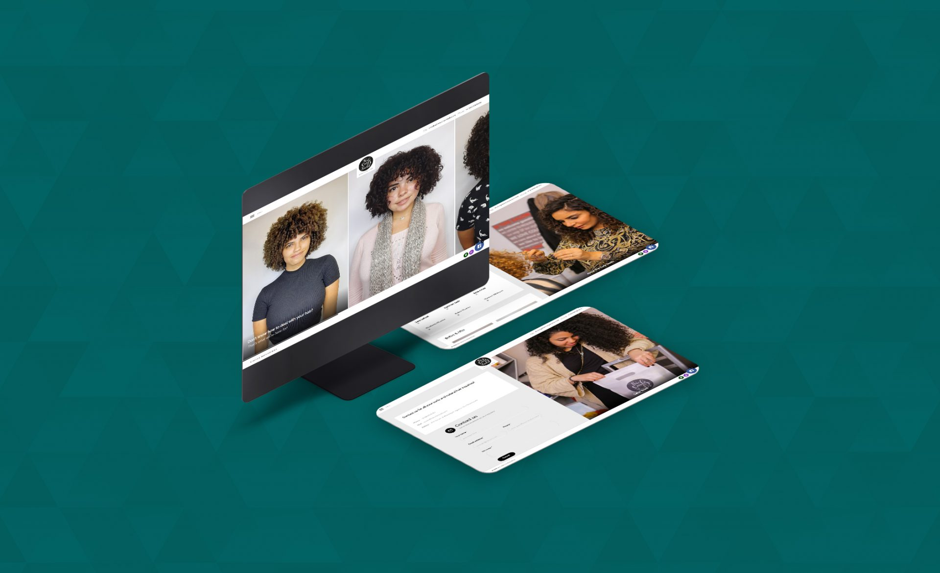 The Curly Studio Site